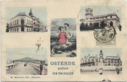 Oostende  *   Ostende Pendant Les Vacances  (Multiview) - Oostende