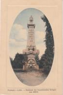 T10-57)  FORBACH - LOTHR -  DENKMAL DER FRANZÖSISCHEN KRIEGER VON 1870 - 71 - 2 SCANS - Forbach