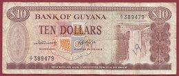Guyana10 Dollars 1989 (Sign 4) Dans L 'état (7) - Guyana