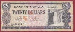Guyana  20 Dollars 1996  Dans L 'état (8) - Guyana