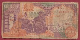 Somalie   1000 Shilin  1996  Dans L 'état (10) - Somalia