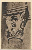 CPA - Photo Et Edition P. Bochter - SAULIEU - Basilique Saint Andoche - (XIIè Siècle) - Combat De Sangliers - Saulieu