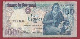 Portugal 100 Escudos Du 24/02/1981  Dans L 'état (11) - Portugal