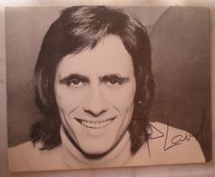 1 Photo Dédicacée Chanteur PHILIPPE LAVIL Années 70 - Autographs