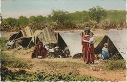 Algérie Scènes Et Types N°6099 Tentes De Nomades Femme Enfants - Escenas & Tipos