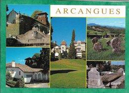 Arcangues (64) église Presbytère Château Golf Tombes Discoïdales Auberge D'Achtal 2scans - France