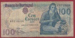 Portugal 100 Escudos Du 24/02/1981  Dans L 'état (15) - Portugal