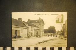 CP, 77, COMBS LA VILLE Rue Sermonoise N°765 Edition M Mulard Yerres TRES RARE Commerce Devanture Couverture Plomberie - Combs La Ville