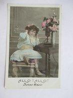 TELEPHONE   -   FILLETTE    -  BONNE  ANNEE         TTB - Other