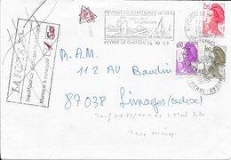 HAUTE VIENNE 87 -   PEYRAT LE CHATEAU - FLAMME : VOIR DESCRIPTION   -  1998      - - Postmark Collection (Covers)