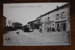 Estrablin - Le Logis Neuf Et Le Tramway - Autres Communes