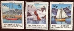 South Georgia 1995 Sailing Ships MNH - Südgeorgien