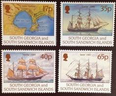 South Georgia 1994 Larsen Ships MNH - Südgeorgien