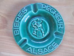 Cendrier Biere  Pecheur . Alsace - Cendriers