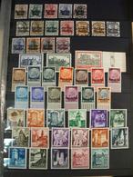 Pologne - Occupation Allemande 1914-18 + Gouvernement Général 1940-41 - 5 Séries Complètes - Cote + 50 - Stamps