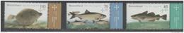 GERMANY, 2016, MNH, FISH, YOUTH PHILATELY, 3v - Fishes