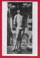 CARTOLINA VG ITALIA - SAN SEBASTIANO - Antonello Da Messina - DRESDA Pinacoteca - 10 X 15 - 1953 - Paintings