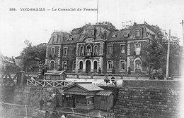 3653 Cpa Japon - Yokohama - Le Consulat De France - Yokohama