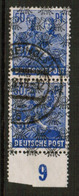 GERMANY  Scott # 629 VF USED IMPRINT PAIR (Stamp Scan # 531) - [7] Federal Republic