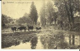 Rochefort -- La  Lomme  Près  Du  Pont  En  Pierre.  ( 2 Scans ) - Belgique
