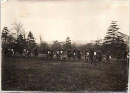 PHOTO ORIGINALE 1914-1918 - Charge De Spahis Marocains. - Guerre, Militaire