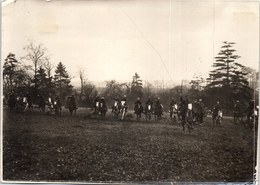 PHOTO ORIGINALE 1914-1918 - Charge De Spahis Marocains. - Guerra, Militari