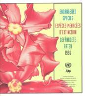 UN  Endangered Species/Especes Manacees D'extinction/Gefahrdete Arten 1996 O - Umweltschutz Und Klima