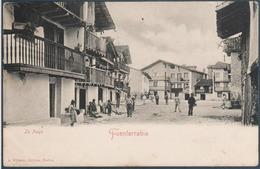 Fuenterrabia , La Place , Animée - Espagne