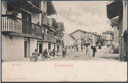 Fuenterrabia , La Place , Animée - Spanje