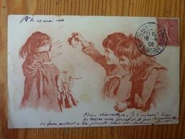 CPA Fillette Poupée Cassée Enfants Moqueurs Tuck 1906 - Tuck, Raphael