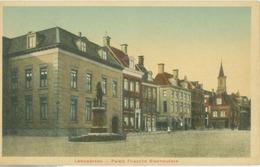 Leeuwarden 1923; Paleis Friesche Stadhouders - Gelopen. (J. Zondervan - Leeuwarden) - Leeuwarden