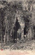 3670 Cpa Cambodge - Angkor Thom - La Porte De La Mort - Cambodge