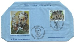 1995 - Vaticano - Morte Di L. Pasteur - Aerogramma     14/71 - Salute