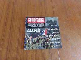 """"""" Sonorama """" N° 16, Février 1960 , Les Actualités Sonores - Musique & Instruments"""
