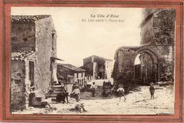 CPA - Les ARCS (83) - Aspect De La Vieille Rue Dans Les Années 20 / 30 - Les Arcs