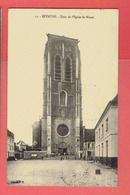 BETHUNE 1914 TOUR DE L EGLISE SAINT WAAST CARTE EN BON ETAT - Bethune