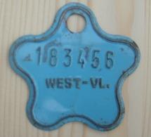 Plaque Vélo Enfant  West - Vl - Plaques D'immatriculation