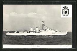 Pc Kriegsschiff HMS Nubian (F131) Auf See - Guerra