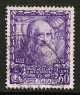 ITALY  Scott # 404 VF USED (Stamp Scan # 531) - 1900-44 Vittorio Emanuele III