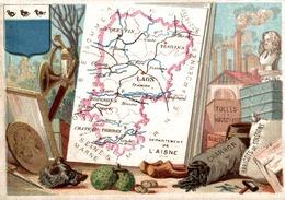 Chromos  Departement De L Aisne - Cromo