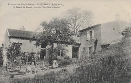 Environs Du Bois Le Pretre  Montauville La Ferme Du Petant  Carte  En Bon état - Other Municipalities