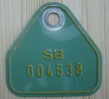Plaque Vélo  SHAPE 1991 - Kennzeichen & Nummernschilder