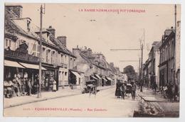 EQUEURDREVILLE - Rue Gambetta - Quincaillerie - La Basse-Normandie Pittoresque - Landau - Automobile - France