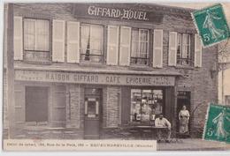 EQUEURDREVILLE (Manche) - Devanture Café Epicerie Maison Giffard-Houel Débit De Tabac 153 Rue De La Paix - Bière Tourtel - France