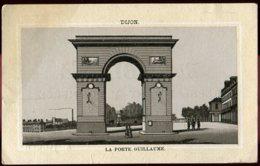 A Voir Chromo 21 Dijon Porte Guillaume Carte De Visite Representant De Commerce P. Sebline Rouen - Visitenkarten