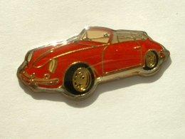 PIN'S PORSCHE CABRIOLET - Porsche
