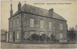 28  Brezolles Maison Huc  Route De Tillieres - France