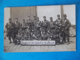 Cpa Militaria Poilus 14-18 Régiment 110 RI - Régiments