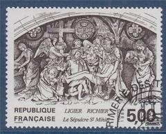 = Le Sépulcre Saint Mihiel De Ligier-Richier N°2553 Oblitéré Série Artistique - Frankreich