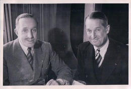Maurice Chevalier, Photo 10x15 Studio Bel-Air Lausanne (6659) - Artistes